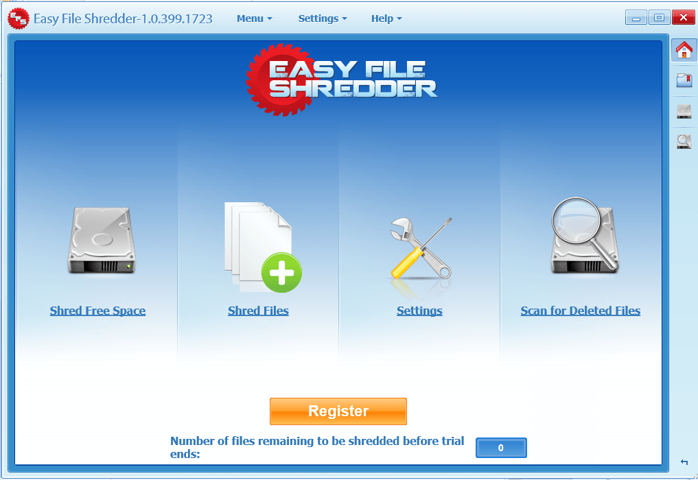 Easy File Shredder Overview