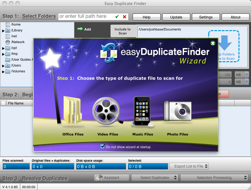 Easy Duplicate Finder Wizard
