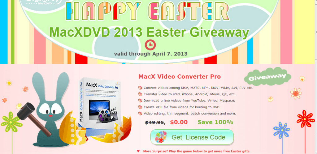 macx easter giveaway
