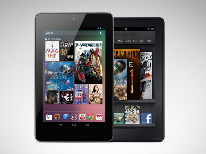 kindle fire vs. nexus