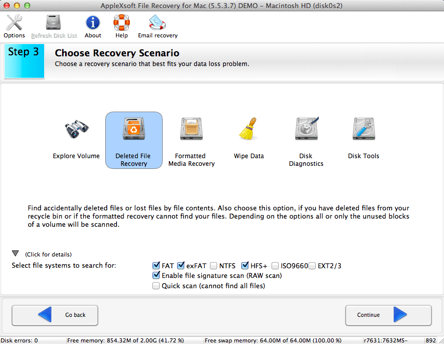 file recovery for mac