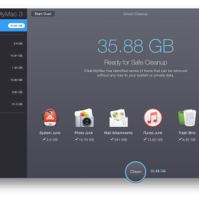 clean up mac with CleanMyMac