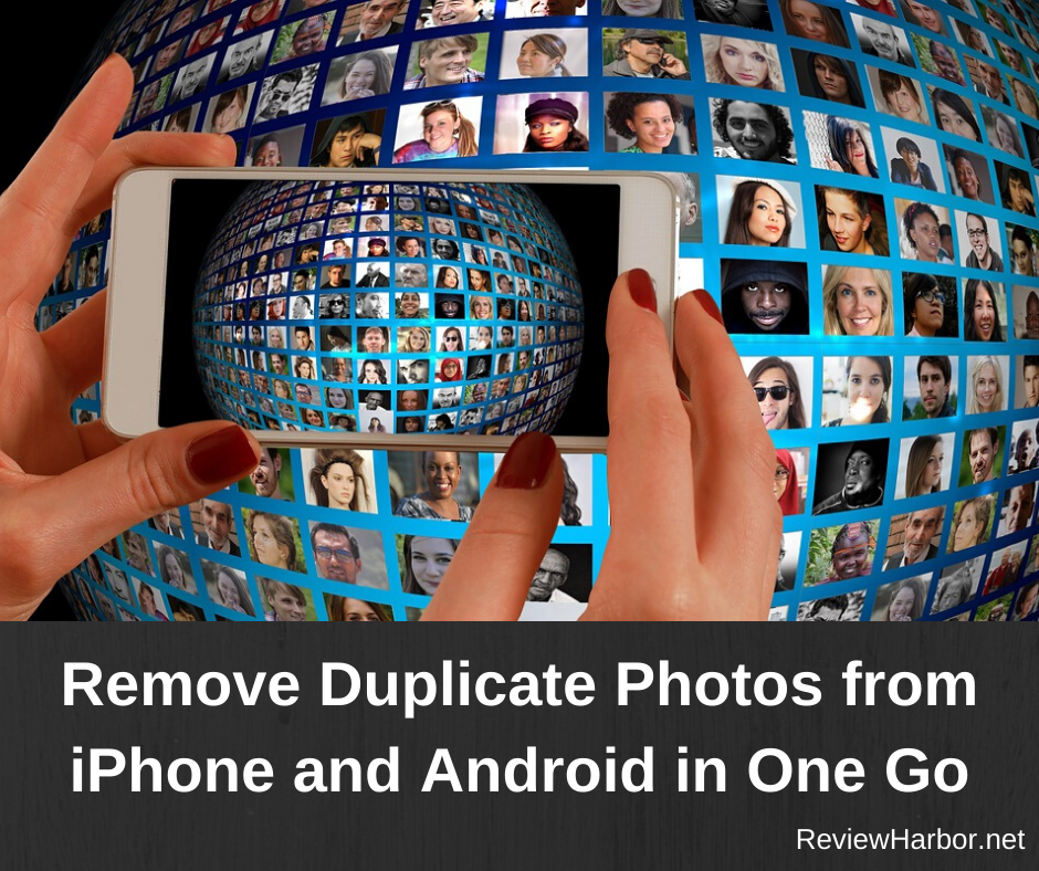 remove duplicate photos from smartphone